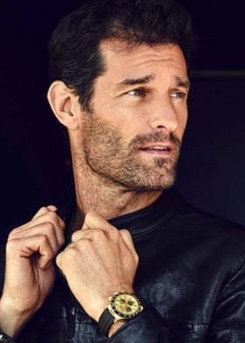 Mark Webber as seen in an Instagram Post in August 2018