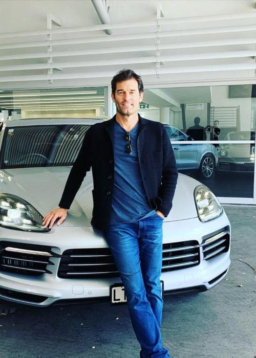 Mark Webber as seen in an Instagram Post in December 2019
