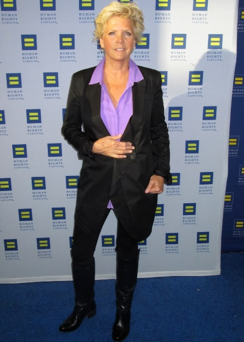 Meredith Baxter as seen in a picture taken at the 2014 HRC gala in Los Angeles