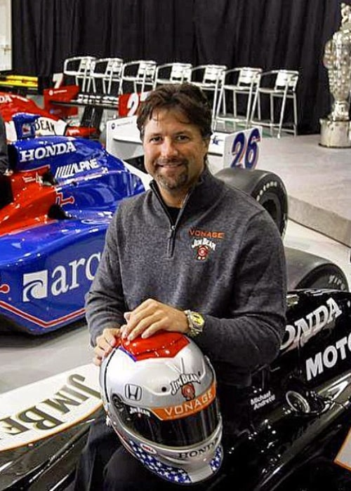 Michael Andretti as seen in an Instagram Post in February 2016