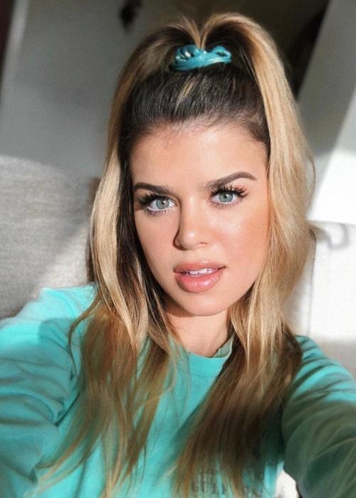 Mikaela Long as seen in a selfie taken in September 2019