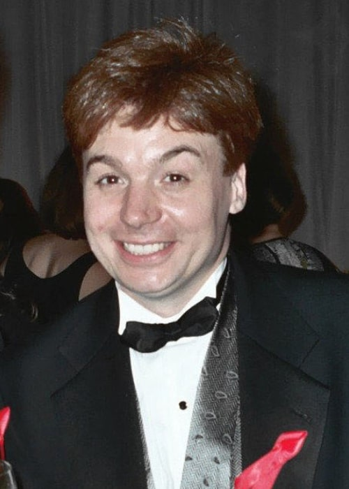Mike Myers as seen in a picture taken at the 47th Emmy Awards in September 1994