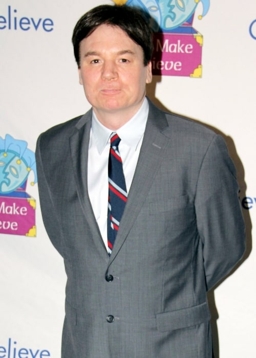 Mike Myers as seen in a picture taken at the Make Believe On Broadway 2011, New York City