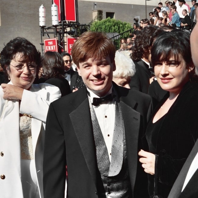 Mike Myers in a picture taken at the 1994 Emmy Awards