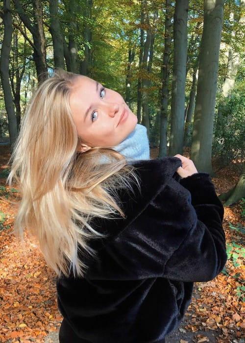 Mikky Kiemeney in an Instagram post as seen in December 2019