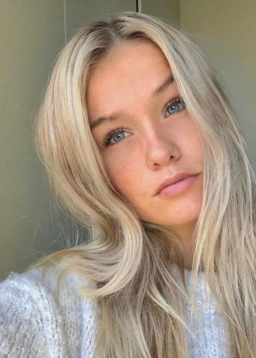 Mikky Kiemeney in an Instagram selfie as seen in April 2020