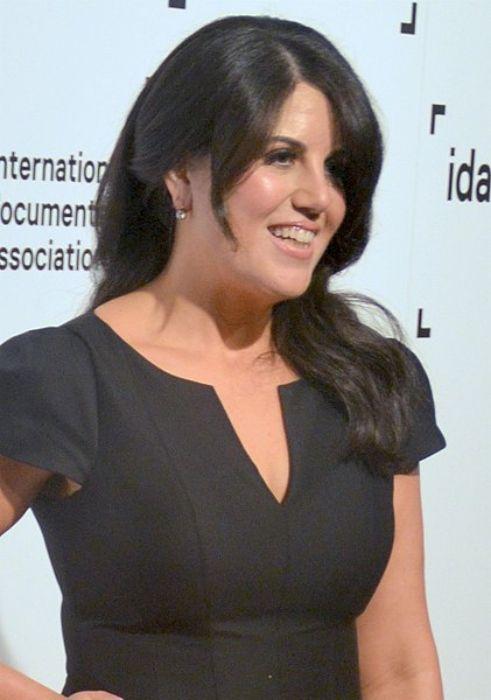 Monica Lewinsky attending the 2014 IDA Awards