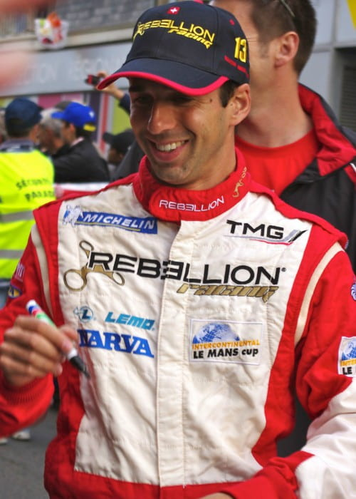 Neel Jani at the Le Mans 24 Hours 2011 Drivers' Parade in June 2011