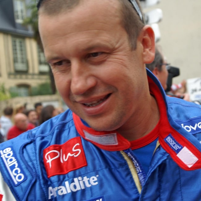 Olivier Panis as seen in a picture taken at the 2009 24 Hours of Le Mans