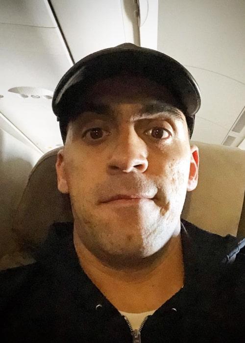 Pastor Maldonado in an Instagram selfie from January 2019