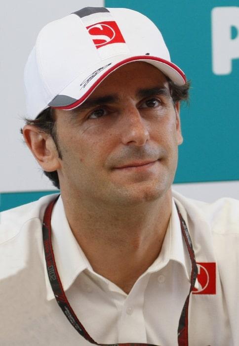Pedro de la Rosa as seen at autograph session at the 2010 Malaysian Grand Prix