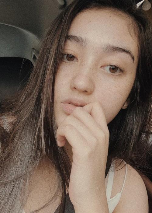 Ranty Maria as seen in a selfie taken in March 2020