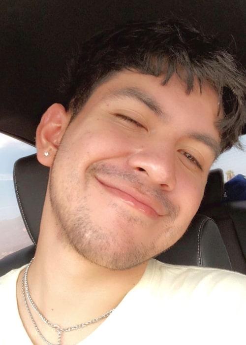Robert Lopez as seen in a selfie taken in May 2019