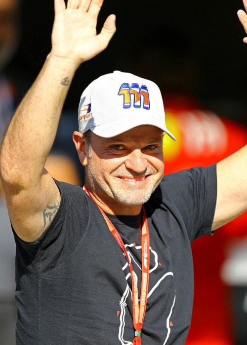 Rubens Barrichello as seen in an Instagram Post in November 2019