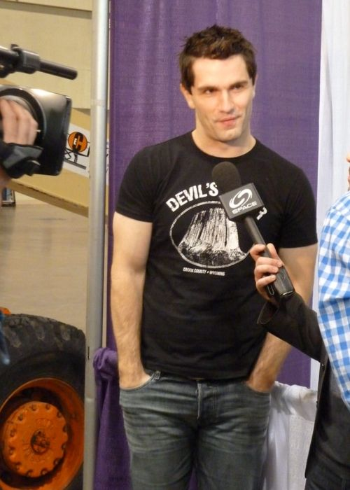 Sam Witwer seen at the Wizard World Toronto in 2012