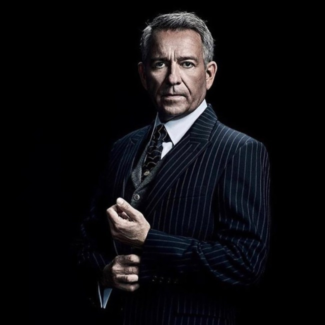 Sean Pertwee during a photoshoot for Gotham in 2019