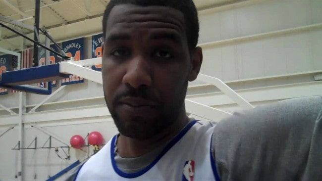 Shawne Williams during an interview in October 2018