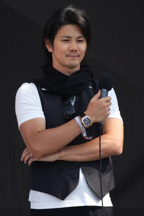 Shinji Nakano as seen in 2009