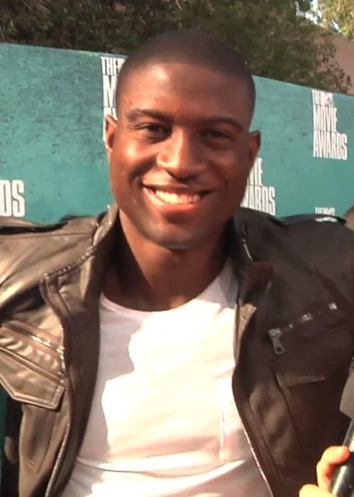 Sinqua Walls interviewed at the MTV Movie Awards 2012