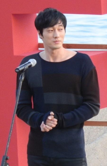 So Ji-sub as seen at 2011 Busan International Film Festival