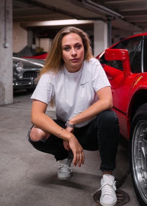 Sophia Flörsch as seen in an Instagram Post in June 2020