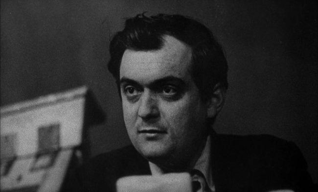 Stanley Kubrick in the film Dr Strange Love in 1964