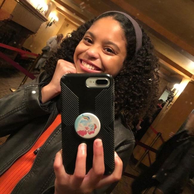Symera Jackson as seen in a selfie taken in March 2020