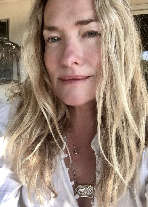 Tatjana Patitz as seen while clicking a selfie in June 2020