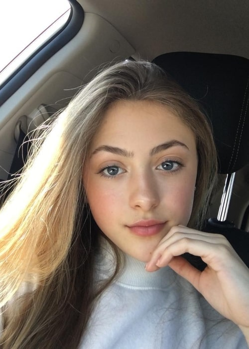 Taylor Thorne as seen in a selfie taken in Toronto, Canada in March 2019