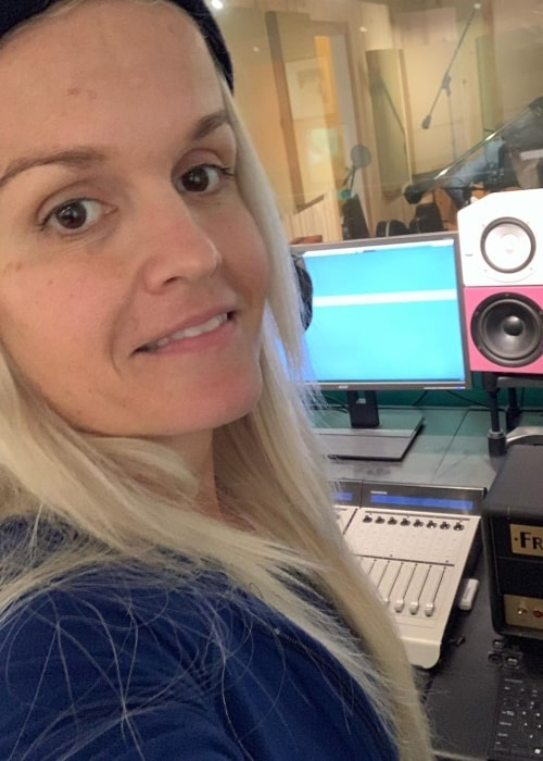 Terra Jolé as seen in a selfie taken at the studio in November 2019