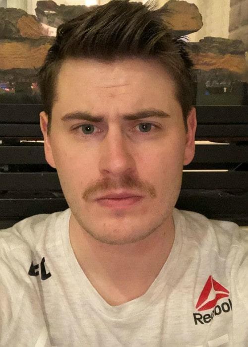 Terroriser in an Instagram selfie as seen in April 2020