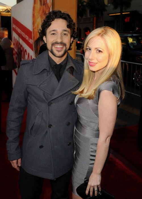 Thomas Ian Nicholas and Colette Marino, as seen in May 2020
