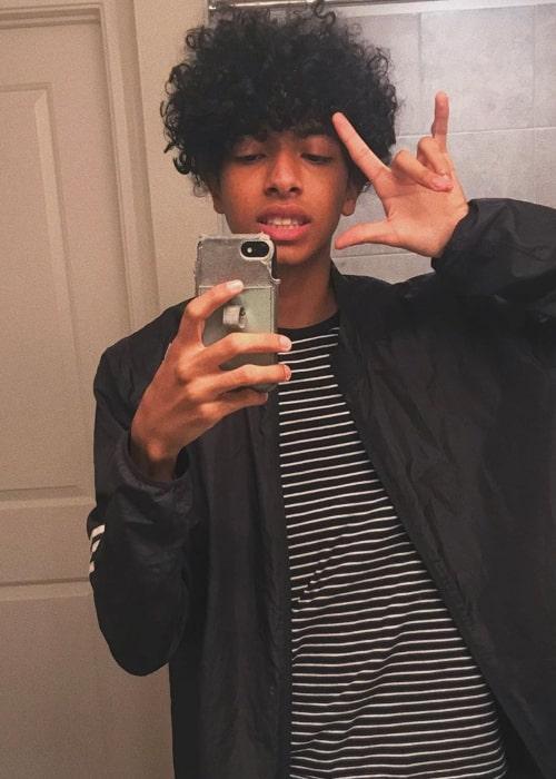 TonyVToons in an Instagram selfie from June 2019