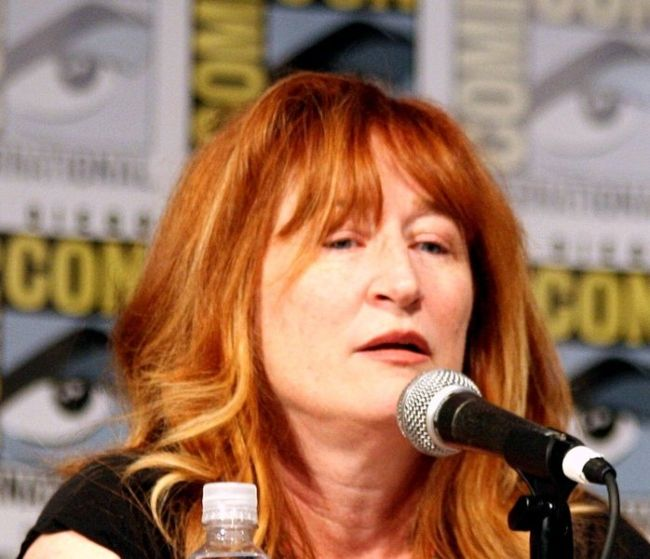 Vicki Lewis seen at the San Diego Comic-Con in 2016