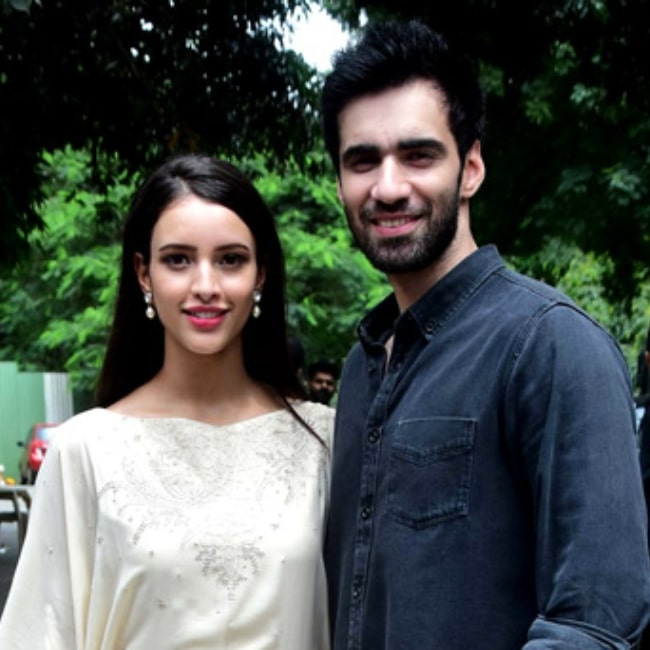 Actor Avinash Tiwary and Tripti Dimri promoting their film Laila Majnu on August 30, 2018