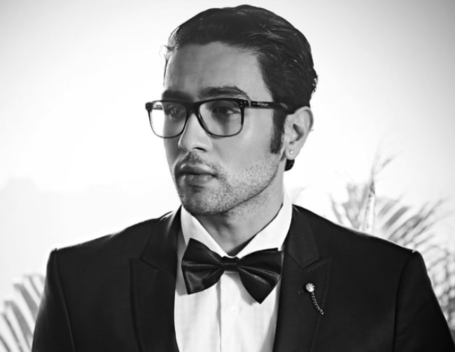 Adhyayan Suman as seen at a photoshoot in March 2017