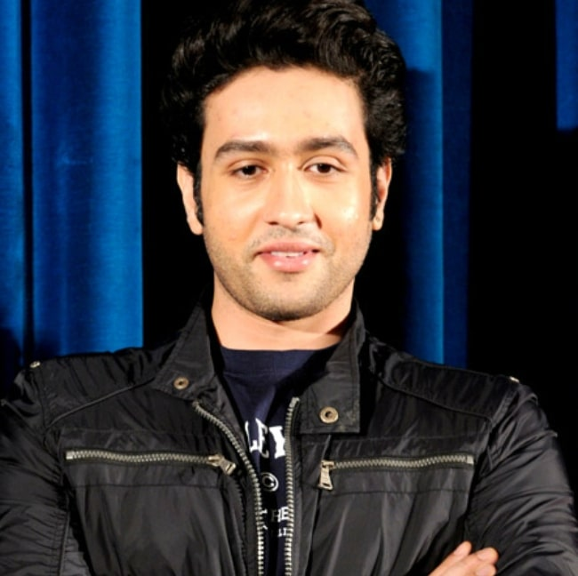 Adhyayan Suman pictured at 'Jai Hind' college festival for the promotion of 'Heartless' in January 2014