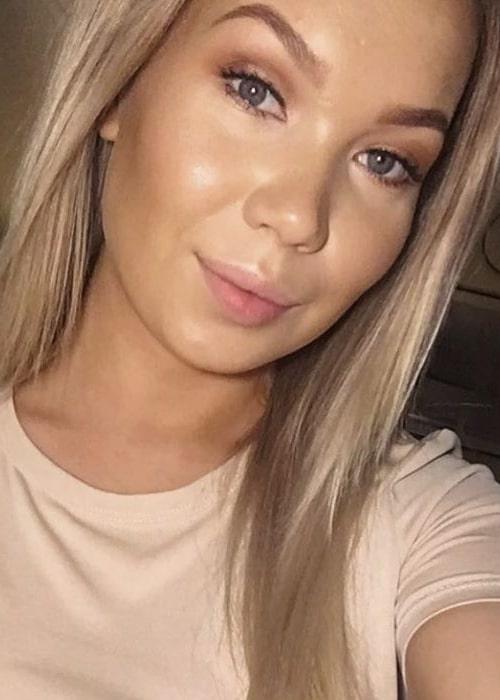 Agnete Johnsen as seen in a selfie taken in Oslo, Norway in November 2019