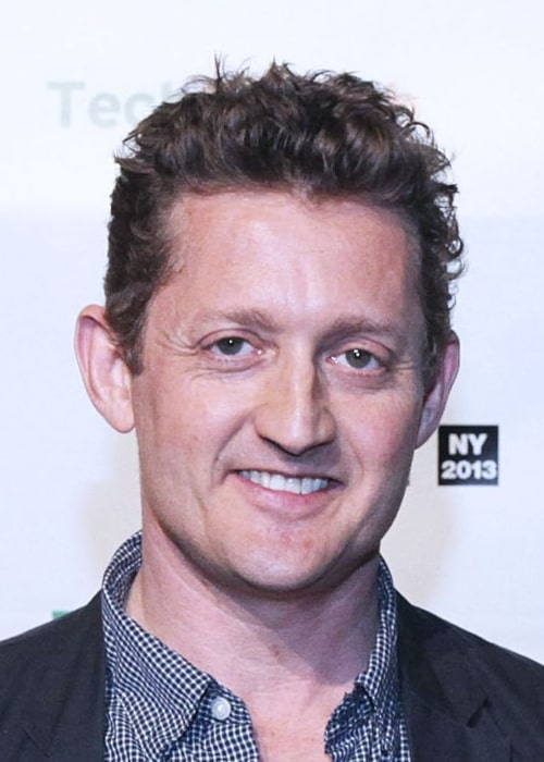 Alex Winter as seen in a picture TechCrunch Disrupt 2013, on April 30