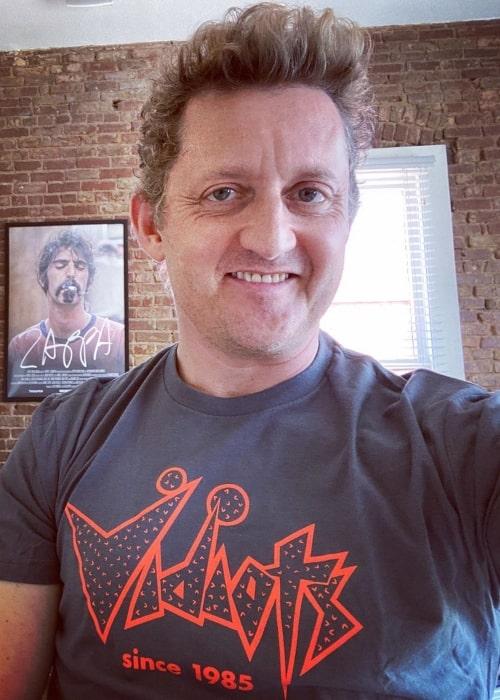 Alex Winter as seen in a selfie taken in April 2020