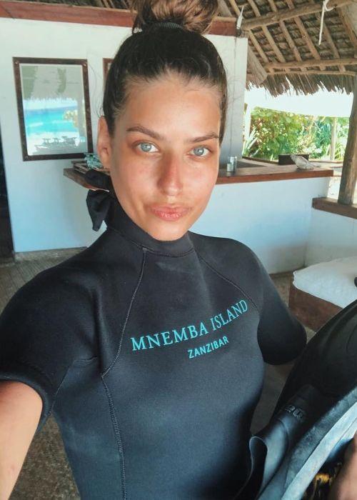 Alice Păunescu as seen in Zanzibar, Tanzania in 2019