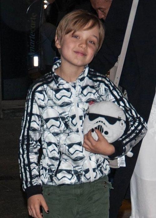 American celebrity kid Knox Léon Jolie-Pitt