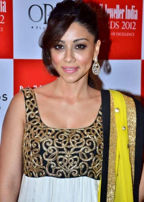 Amrita Puri at '8th Annual Gemfields RioTinto Retail Jeweller India Awards 2012' meet