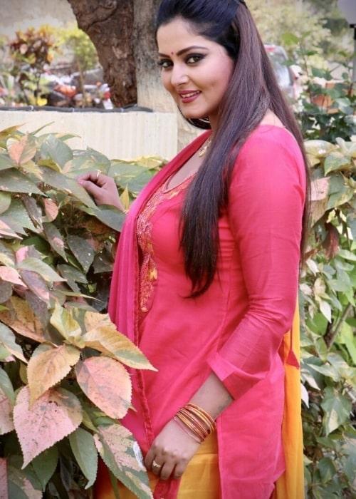 Anjana Singh as seen in a picture that was taken in June 2020
