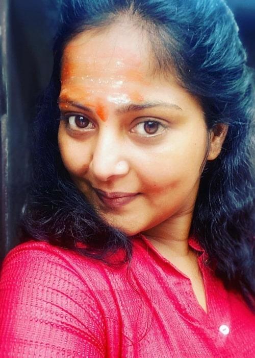 Anjana Singh as seen in a selfie taken in July 2020