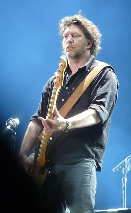Ben Shepherd pictured while performing live in May 2012