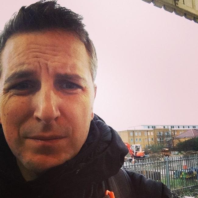 Ben Willbond as seen in a selfie taken in January 2015
