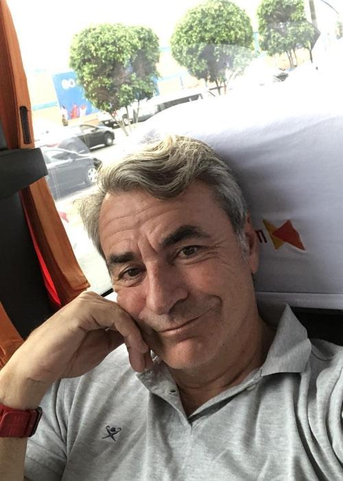 Carlos Sainz in an Instagram selfie from January 2019