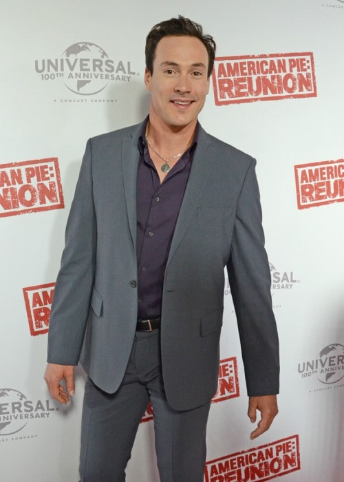 Chris Klein at the American Reunion Premiere In Melbourne in March 2012