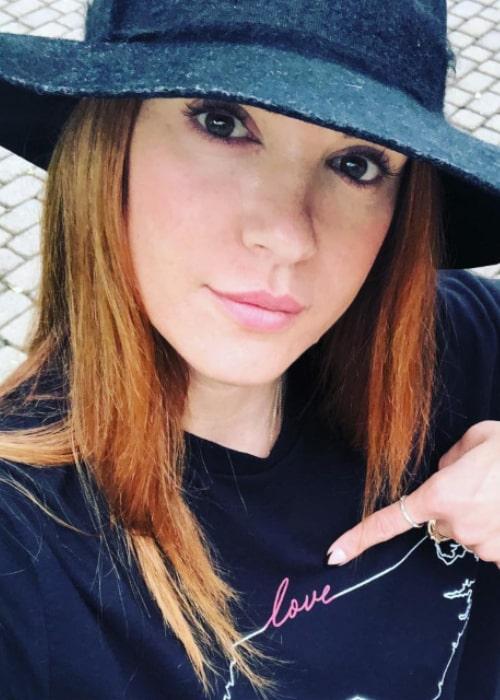 Danneel Ackles in an Instagram selfie from September 2018